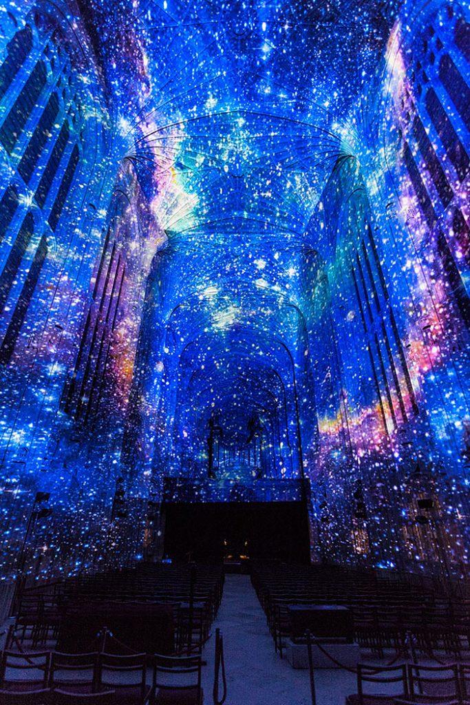 Gotische-Lichtshow